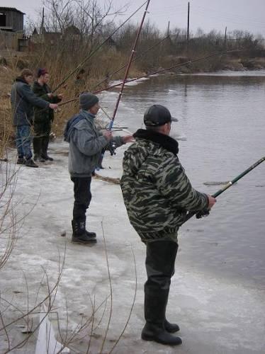 ловля тугуна на енисее