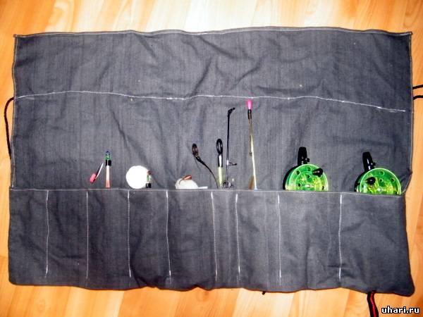 из чего пошить сумку для рыбалки