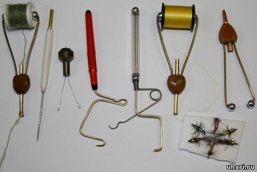 Вязание мушек инструменты своими руками 8